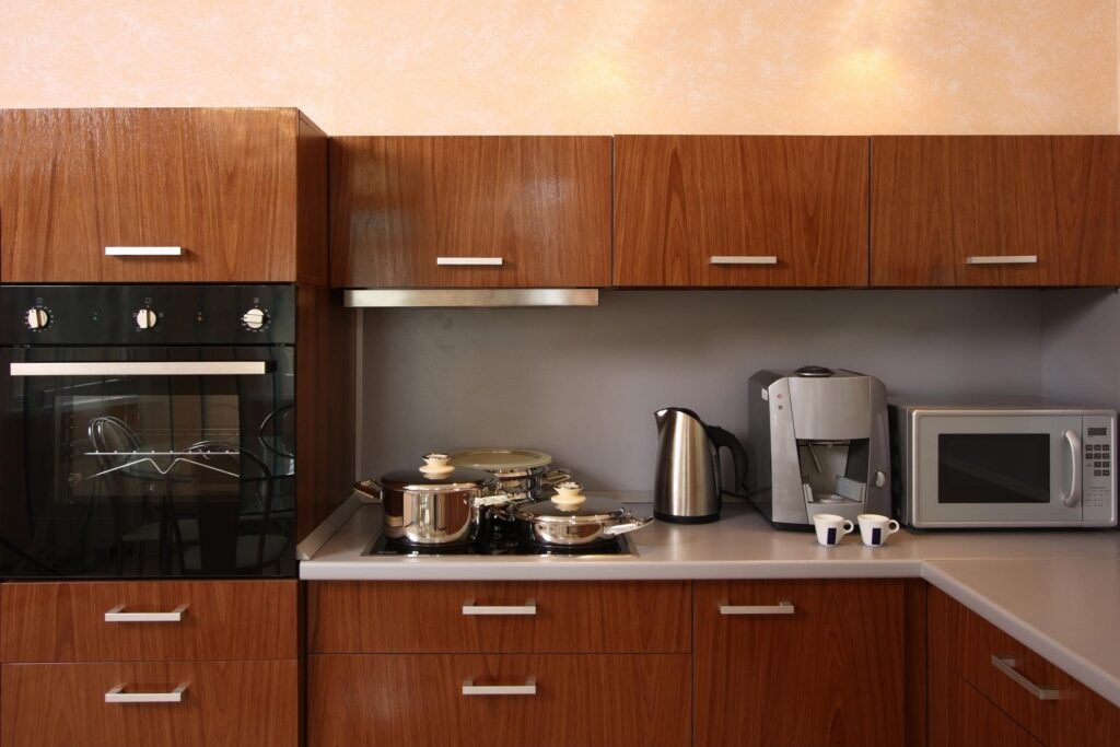kitchen with built in stove and oven